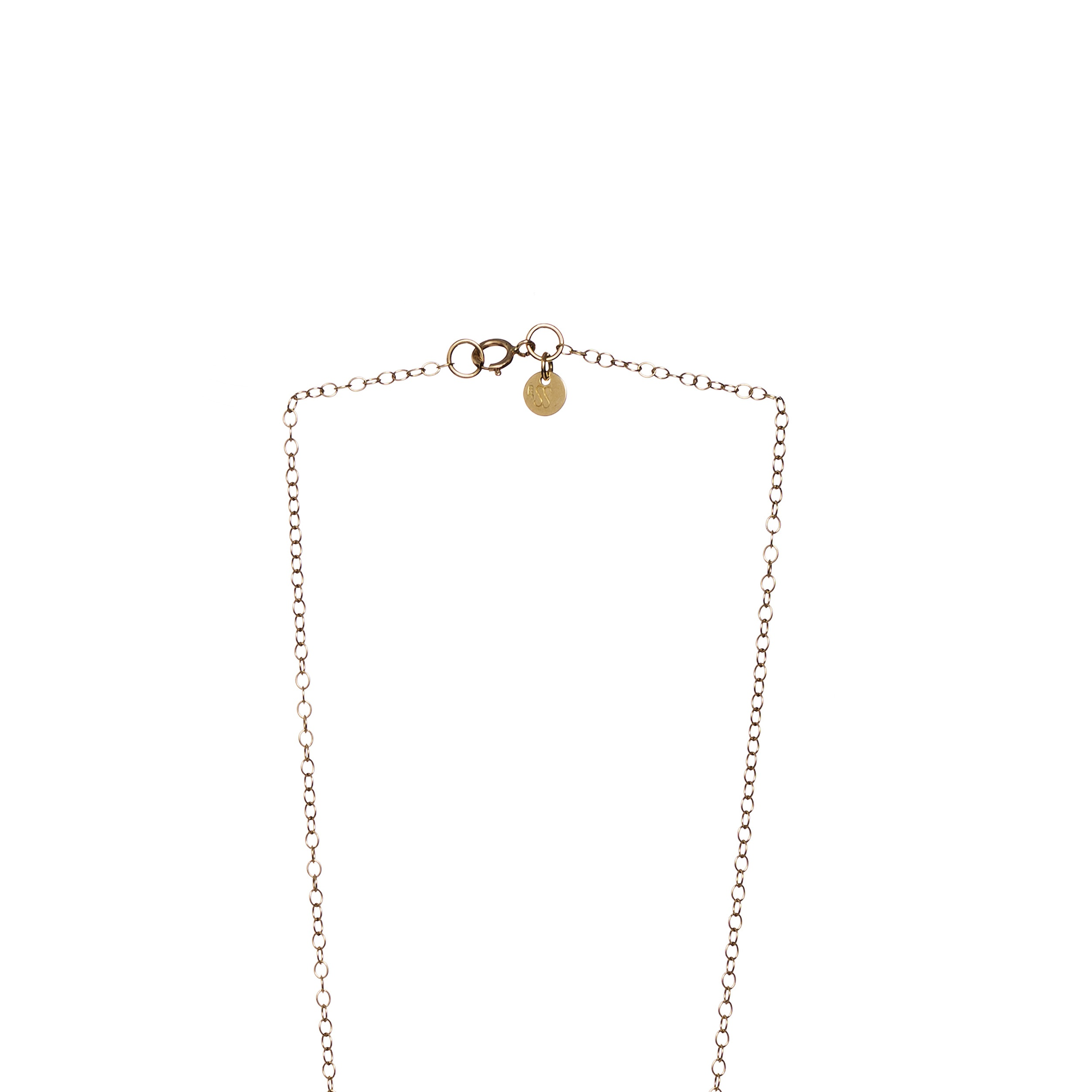 see chain necklace you on luna gold at products jewellery everyday rose charm sunrise la