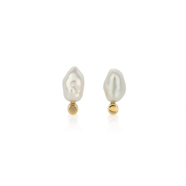 South Sea Keshi Pearl Earrings